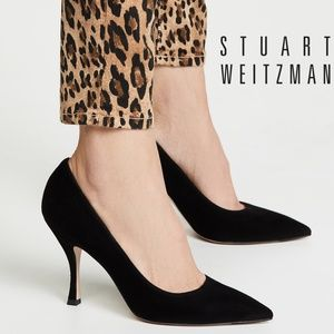 🆕Stuart Weitzman Tippi 70 Pointed Toe Heels Pumps